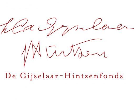 De Gijselaar Hintzen Fonds